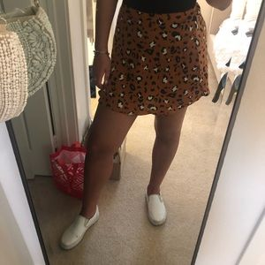 Trendy Urban Outfitters Cheetah Skirt